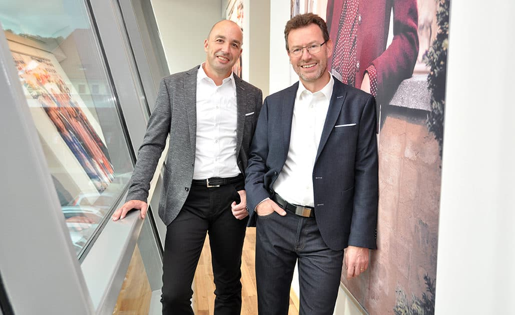 Vorstand im Business Casual Style