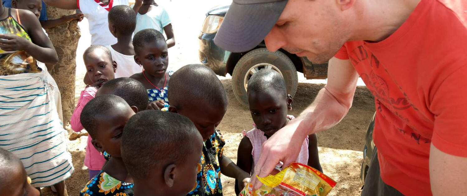 Haribo macht Kinder froh - auch in Afrika.